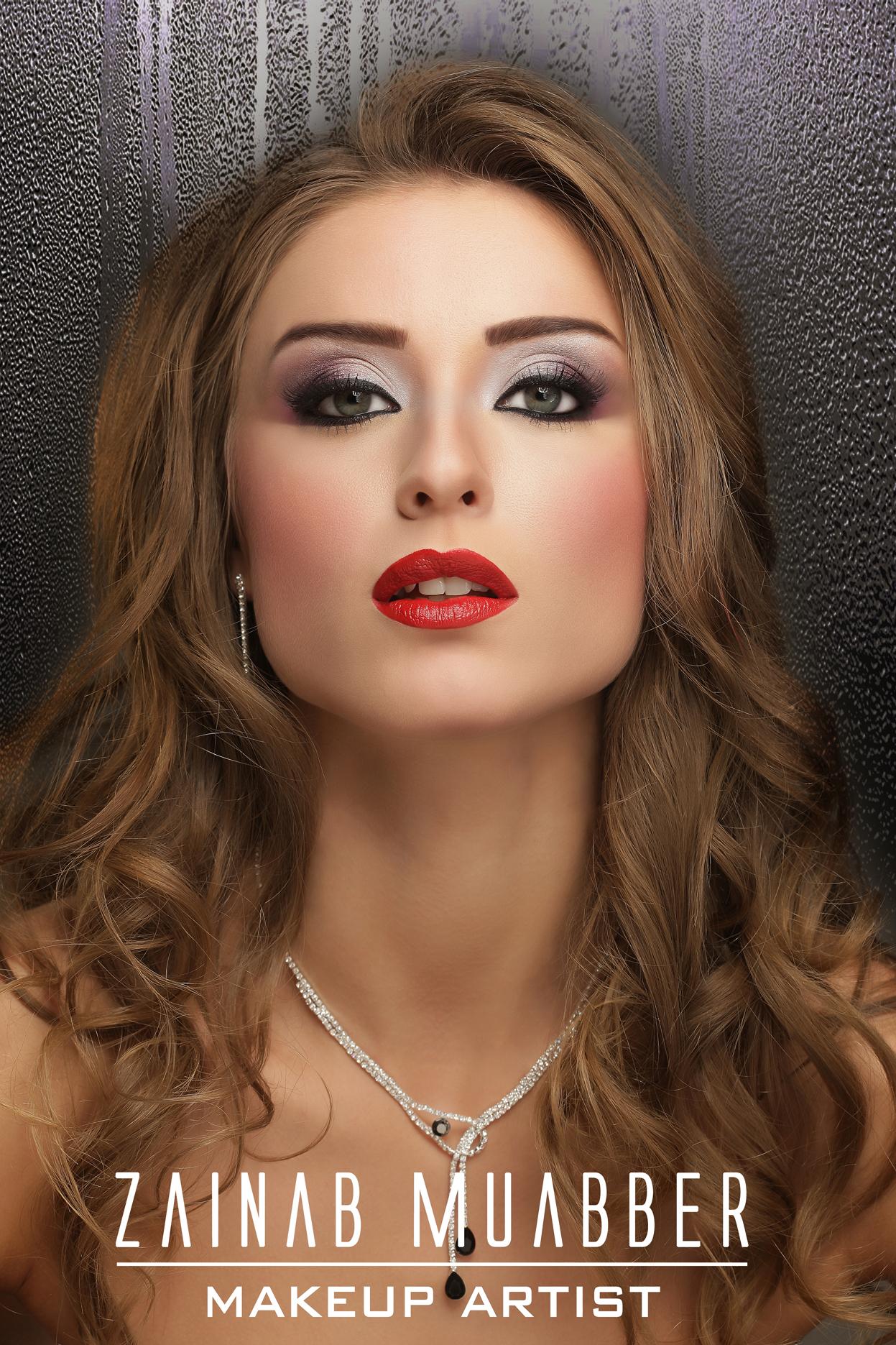 مكياج خبيرة التجميل السعودية زينب haidar13628553146821