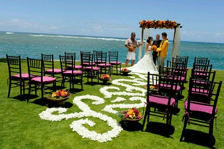 الزفاف البحر نكهة خاصة