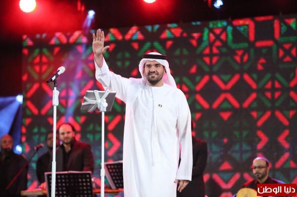 الجسمي يشعل أجواء فرحة الإحتفال haidar1417767103611.