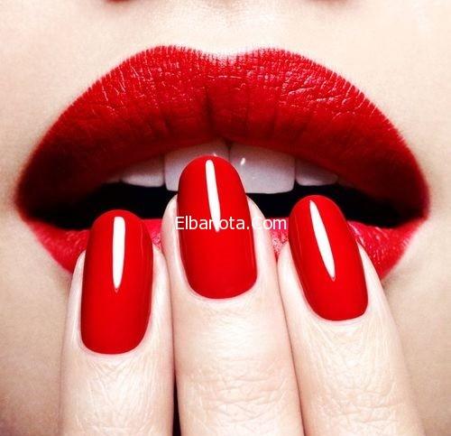 موضة طلاء الأظافر وأحمر الشفاه haidar1418390388261.