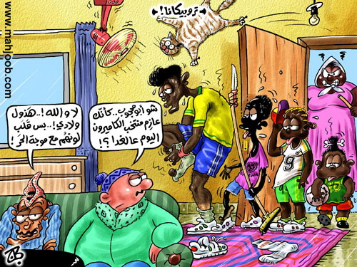 كاريكاتير موجة الحر haidar1439293851881.